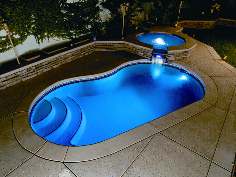 Picknell Pools | Lighting for Swimming Pools by Viking Pools ...